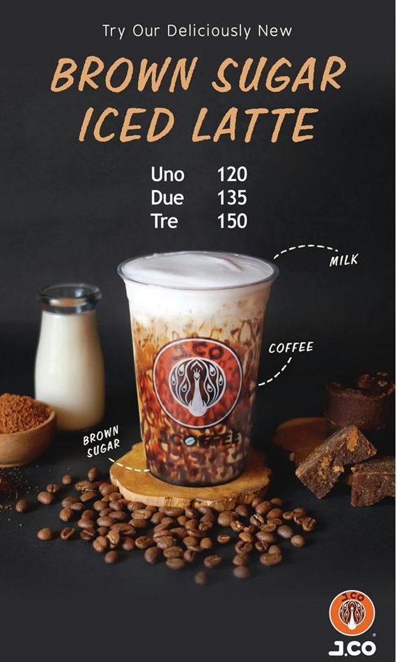 J.CO Donuts & Coffeeのメニュー
