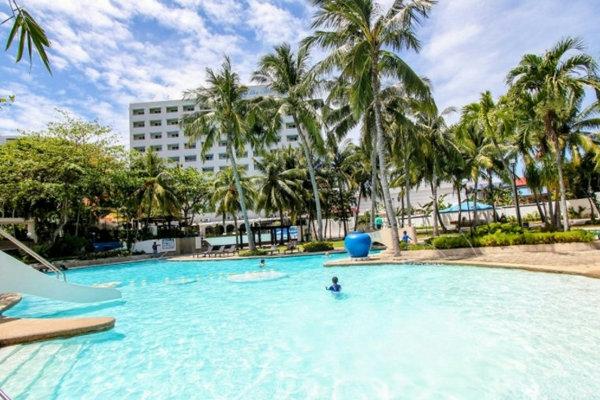 Cebu Blue Oceanのプール
