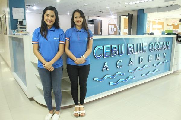 Cebu Blue Oceanのフロントデスク