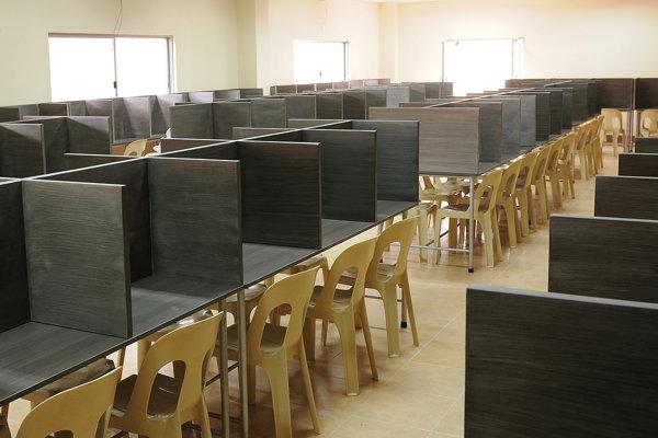 CIAの自習室