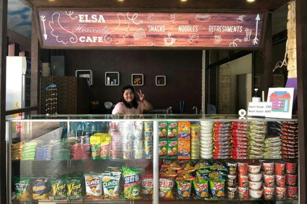 ELSAの売店