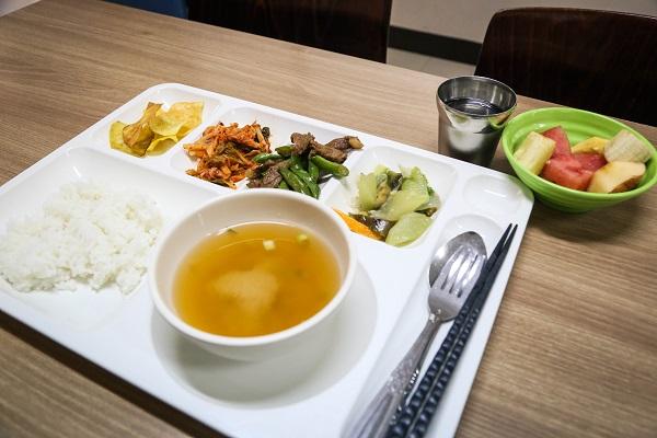 Cebu Blue Oceanの夕食