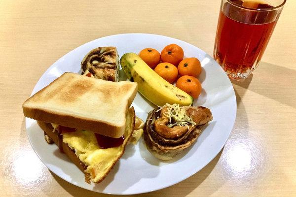Geniusの朝食