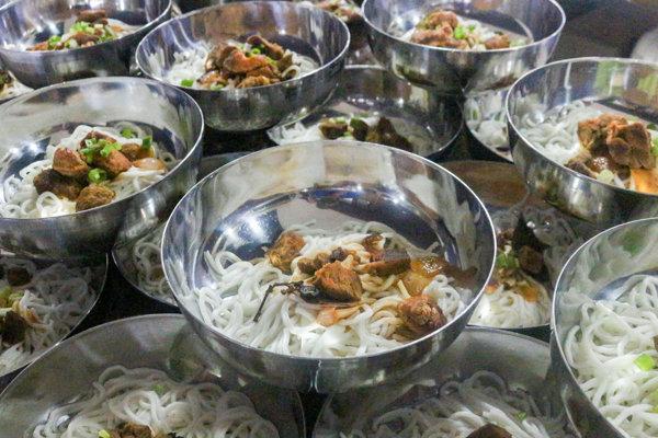 IMS BANILADキャンパスの食事