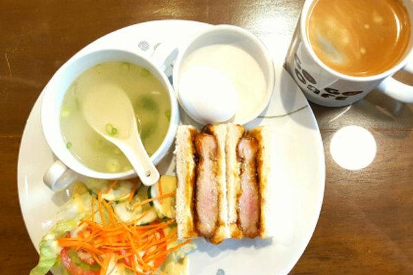 LTELの朝食