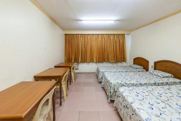 CPILSの3人部屋