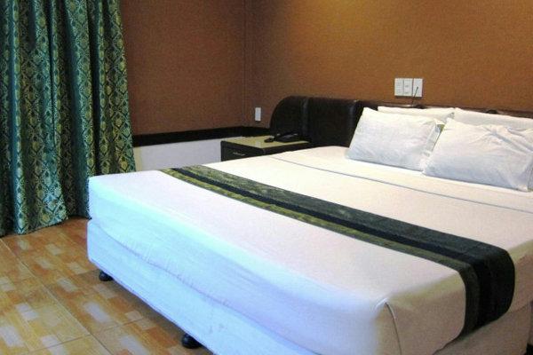 提携ホリディスパホテルの部屋