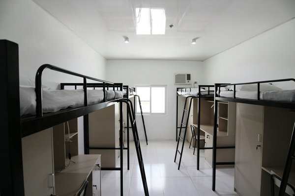 IDEA CEBUの4人部屋