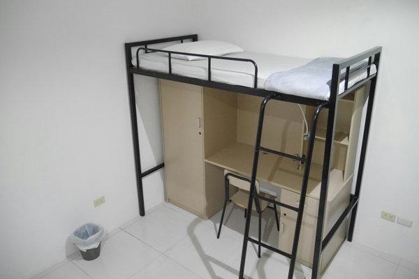 IDEA CEBUのベッドは多機能