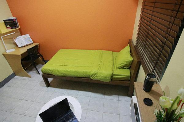 IMS BANILADキャンパスの1人部屋