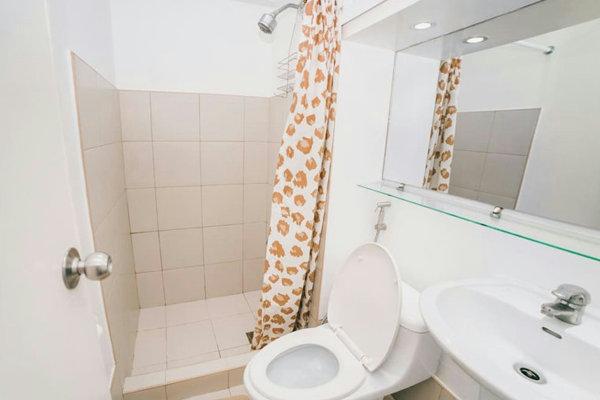 提携コンドミニアムのバスルーム