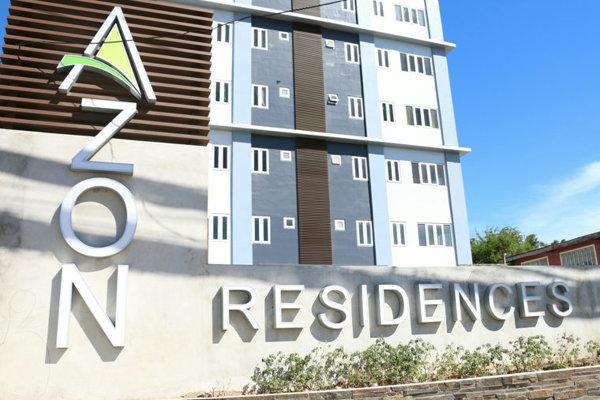 提携コンドミニアム(AZON Residences)の外観
