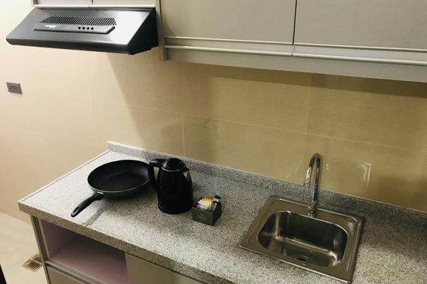 SOPの部屋はキッチン完備