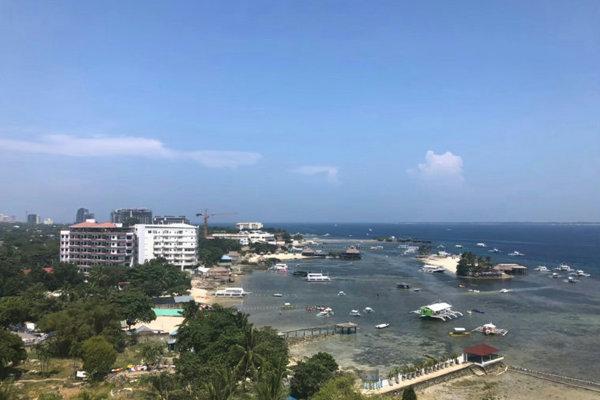 Cebu Blue Oceanのオーシャンビュー