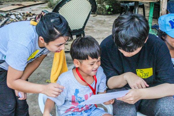 Cebu Blue Oceanのボランティア活動