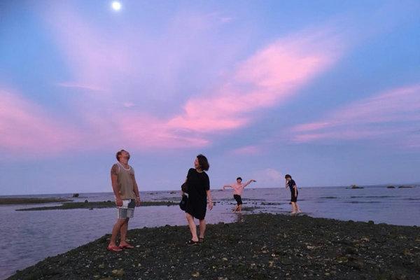 ELSAのプライベートビーチ