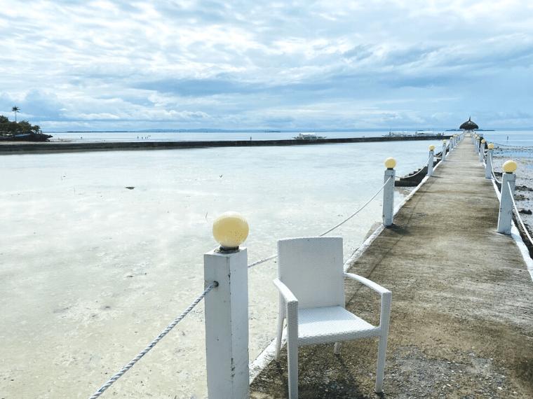 パシフィックセブリゾート・桟橋