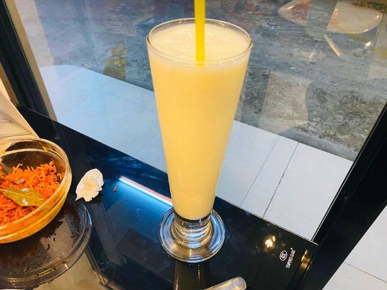 Hyderabadのラッシー