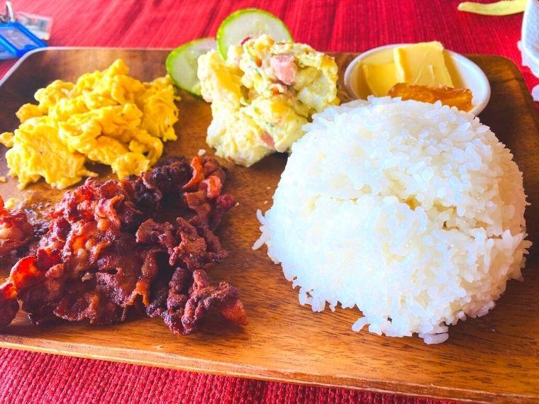 リオ・ビーチリゾートの料理